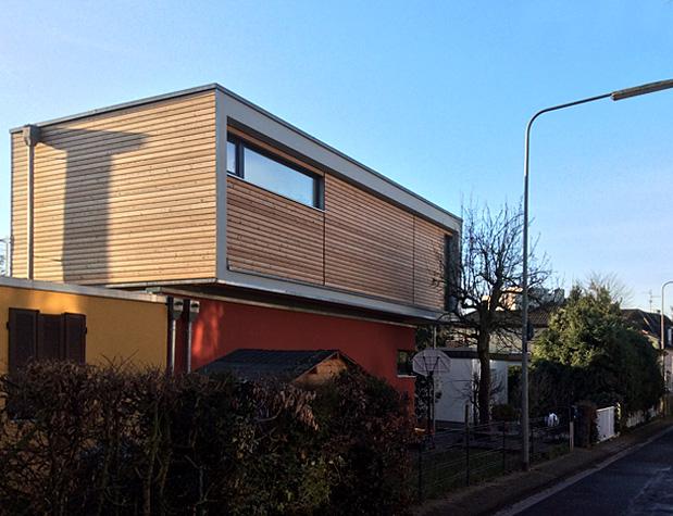 umbau und aufstockung eines bungalows. Black Bedroom Furniture Sets. Home Design Ideas